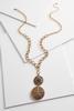 Filigree Locket Pendant Necklace