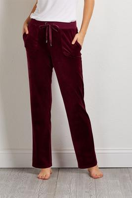 velour satin bottoms