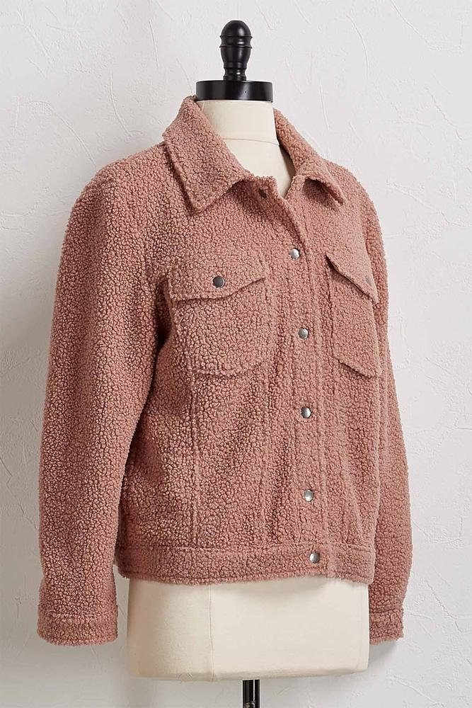 Sherpa Button Down Jacket
