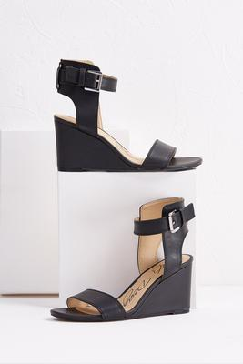 ankle cuff wedges