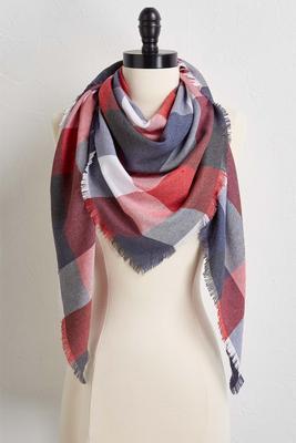 buffalo fringe scarf