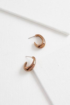 petite metal hoops