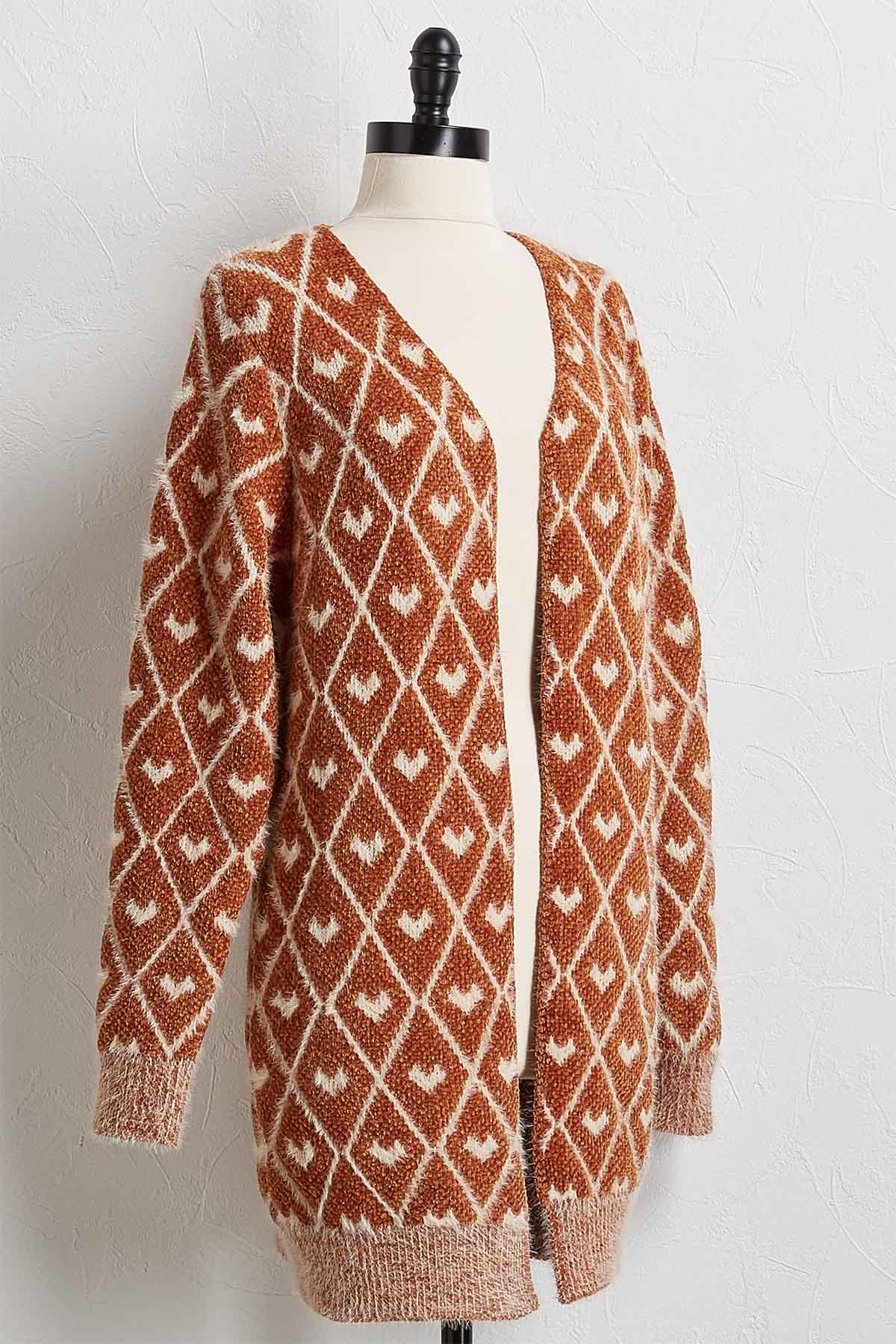 Cozy Gold Cardigan Sweater