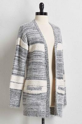 eyelash cardigan sweater