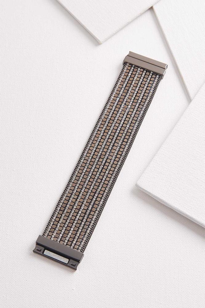 Sparkling Faux Leather Bracelet