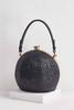 Ball Shaped Glitter Handbag
