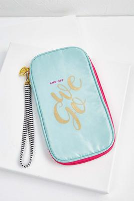 cute travel wristlets