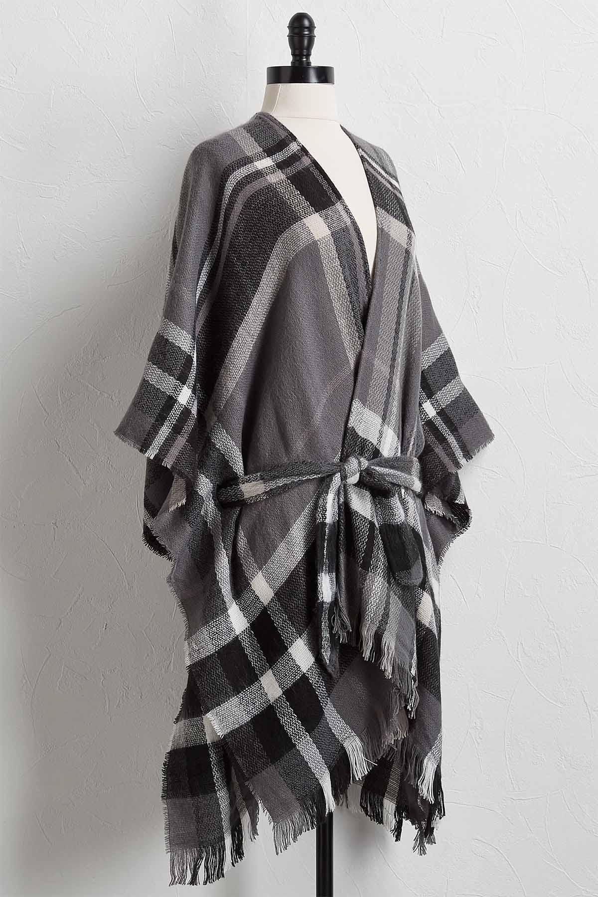 Belted Kimono Sweater