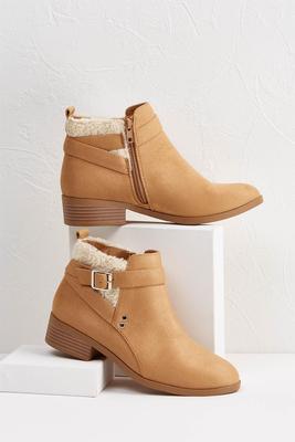 sherpa booties