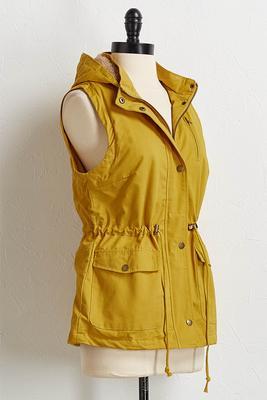 hooded utility vest