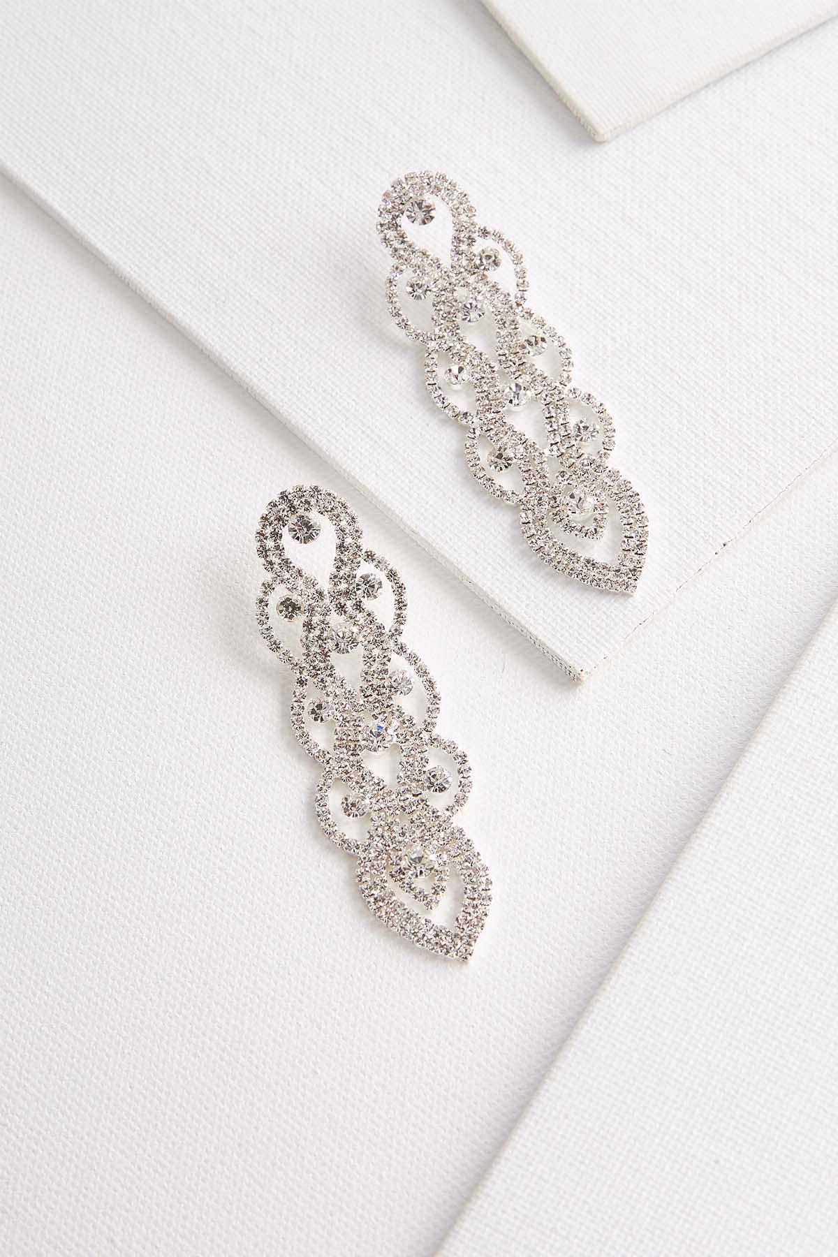 Linear Chandelier Earrings