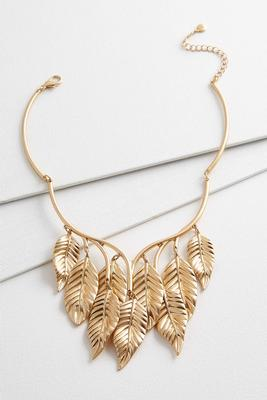 gold leaf goddess necklace