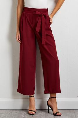 tie waist pants