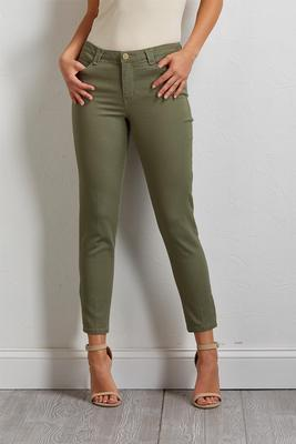 high-rise ankle pants