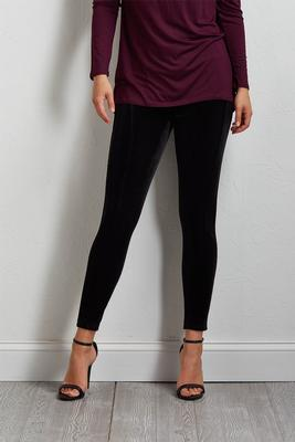 velvety leggings