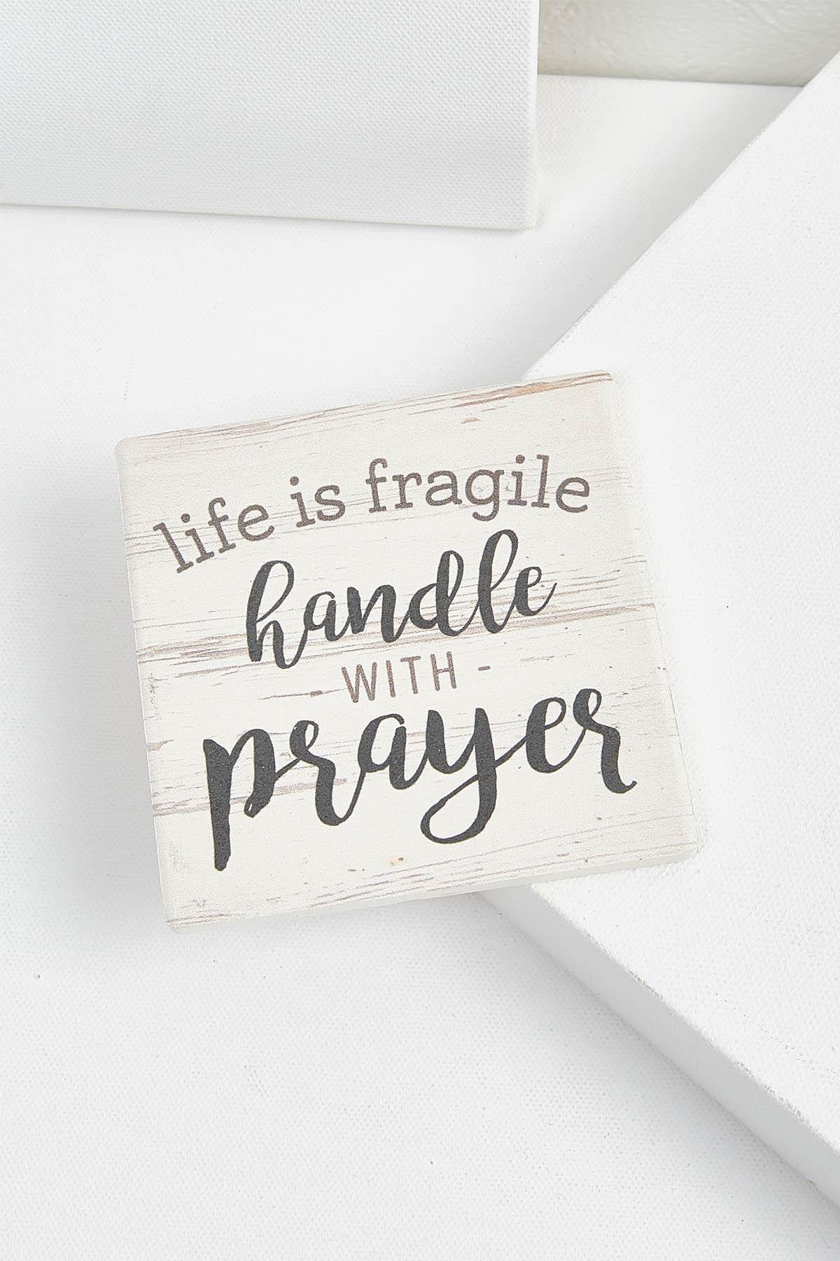 Life Is Fragile Coaster