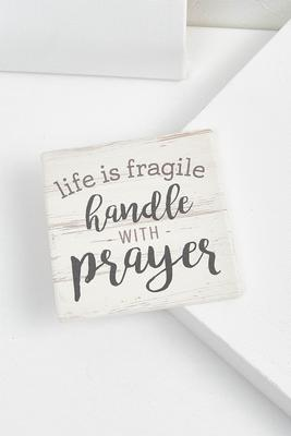life is fragile coaster