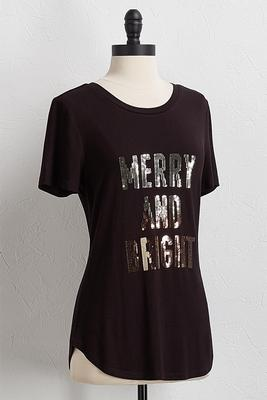 merry and bright top