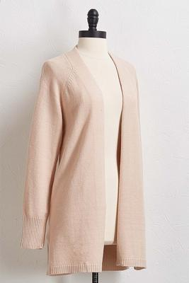 rose cardigan sweater
