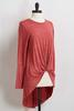 Exaggerated High- Low Tunic