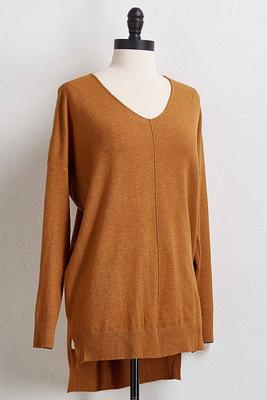 step up tunic sweater