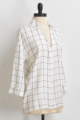 lattice and checks top