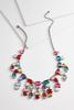Dangling Jeweled Necklace