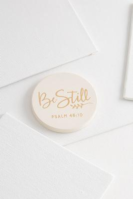 be still car coaster