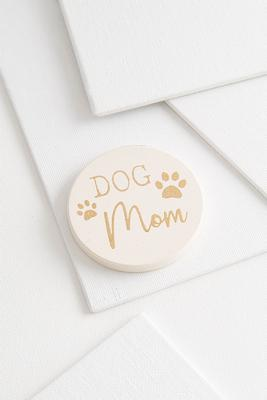 dog mom car coaster