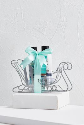 lotion and shower gel sleigh set