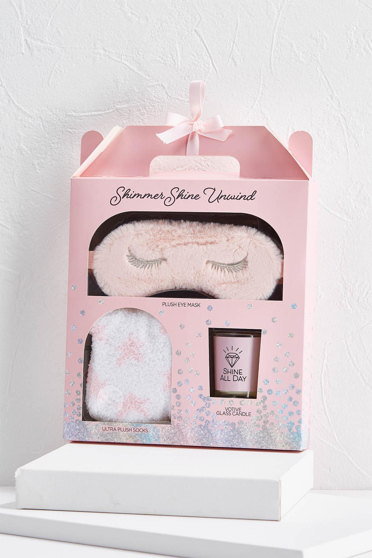 Pink Shimmer Shine Unwind Gift Set
