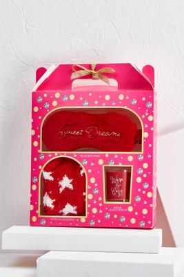 red shimmer shine unwind gift set