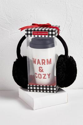 warm and cozy tumbler set