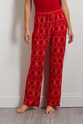 snowflake sleep pants