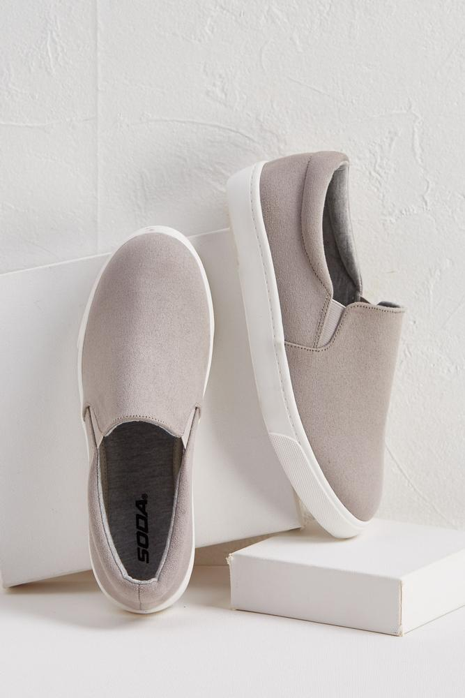 Stretch Slip- On Sneakers