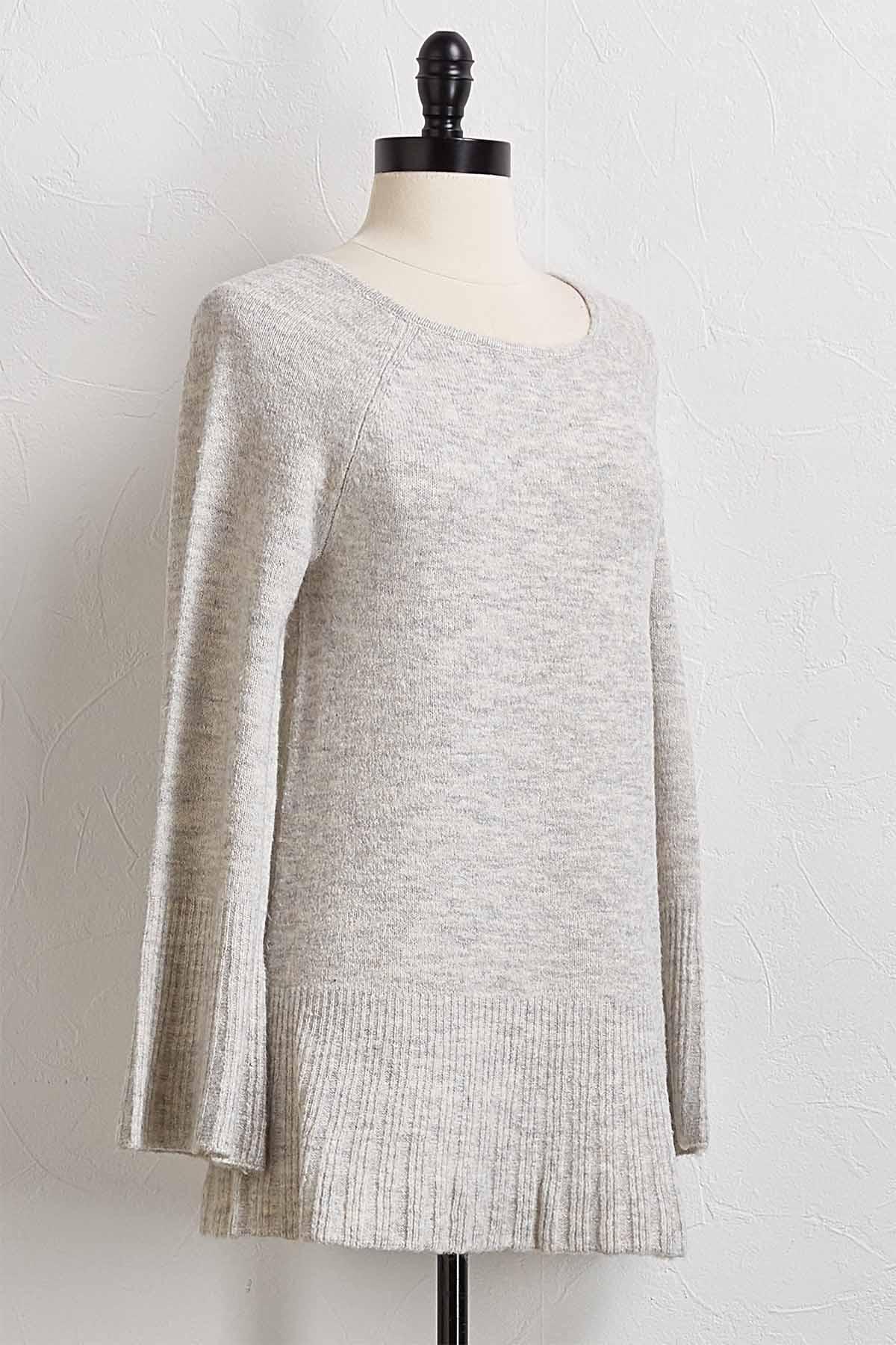 Flare Sleeve Sweater