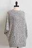 Speckled Poncho Sweater