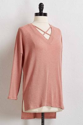 lattice front hacci tunic