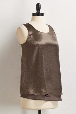 glimmering layered tank