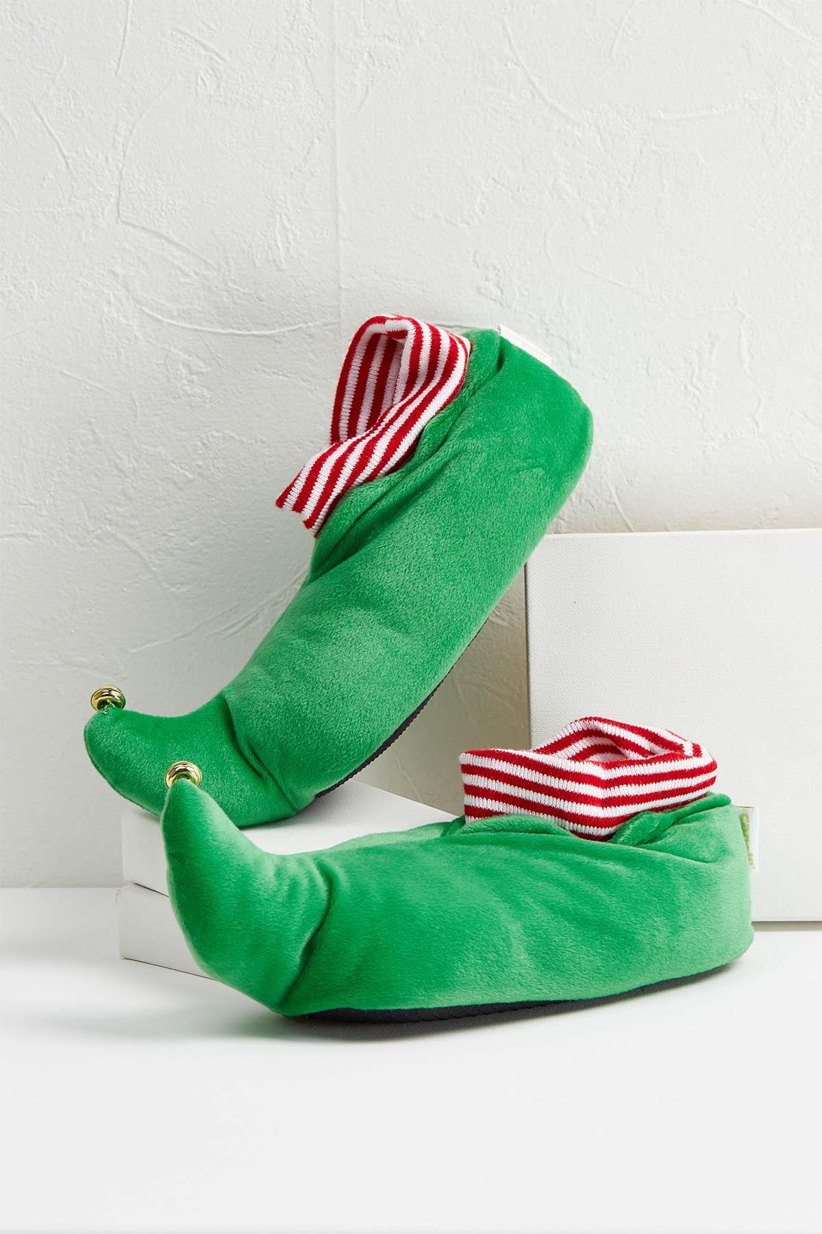Holiday Elf Slippers