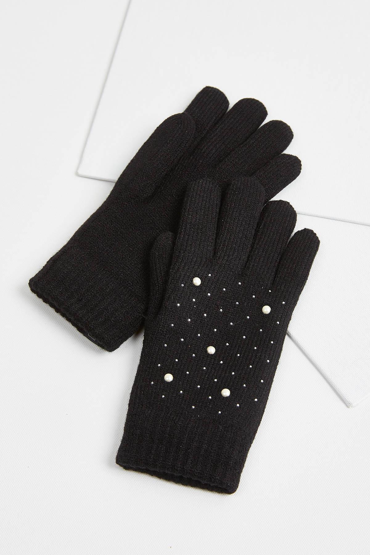 Pearl Embellished Gloves