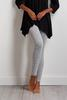 Gray Hacci Leggings