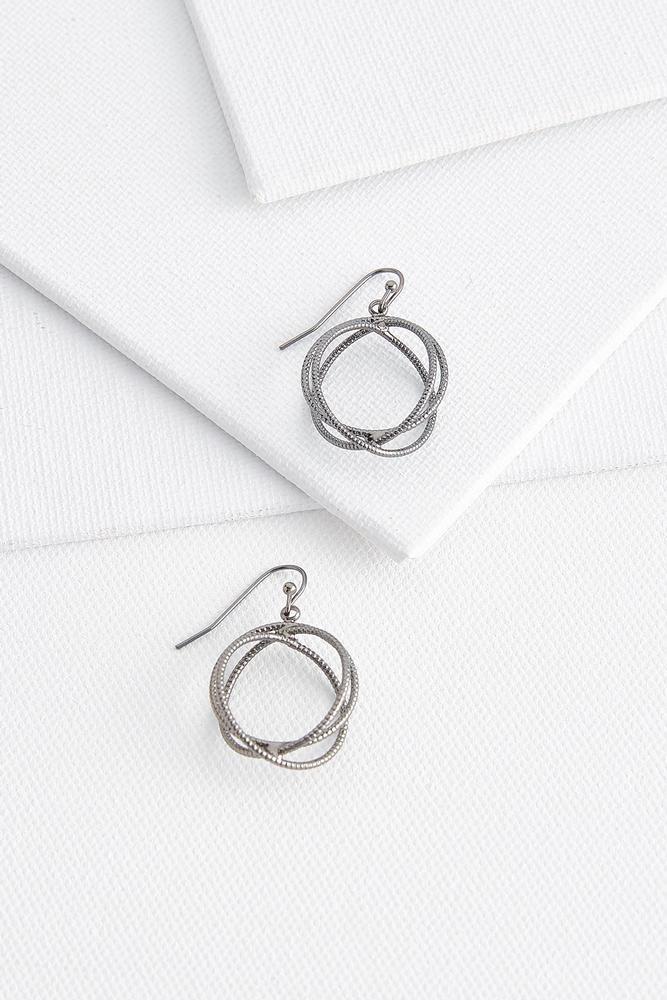 Textured Sphere Earrings