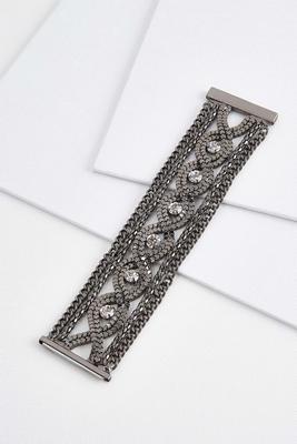 woven metal bracelet