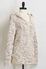 Confetti Hooded Chenille Sweater