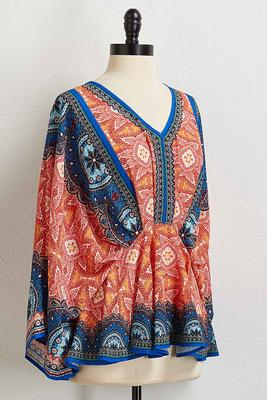 bright medallion top