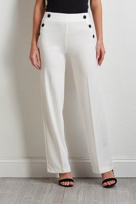 button pull-on pants