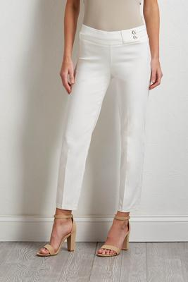 grommet band pull-on pants