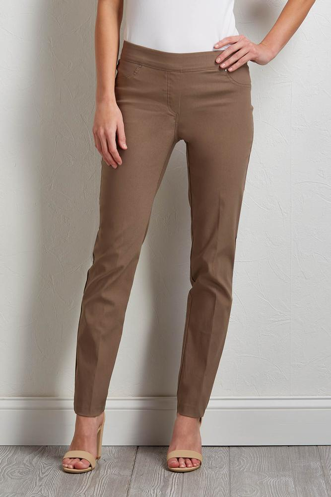 Comfort Luxe Stretch Pull- On Pants