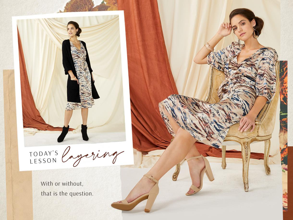 Today`s Lesson Layering collection